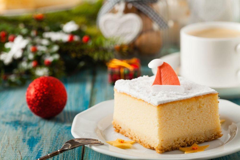 Świąteczne ciasta: keks i sernik  - zdjęcie 1