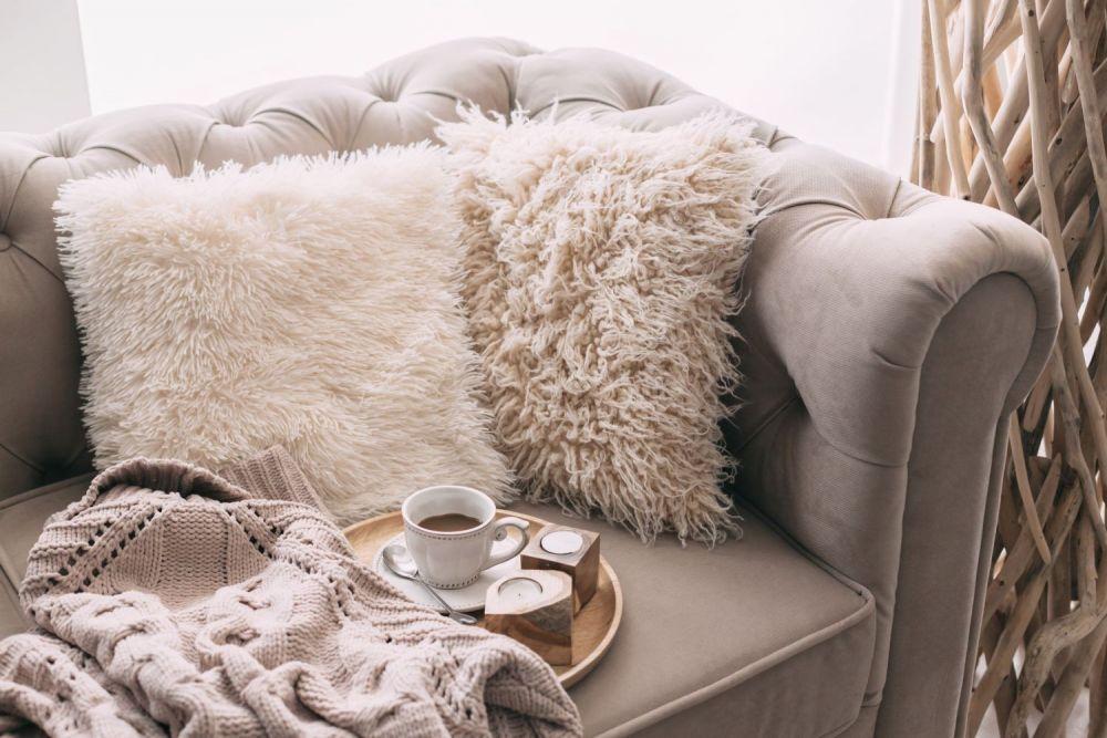 Poduszka na fotelu