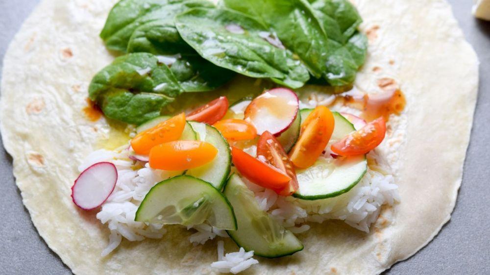 Tortilla ze zdrowym nadzieniem - zdjęcie 1