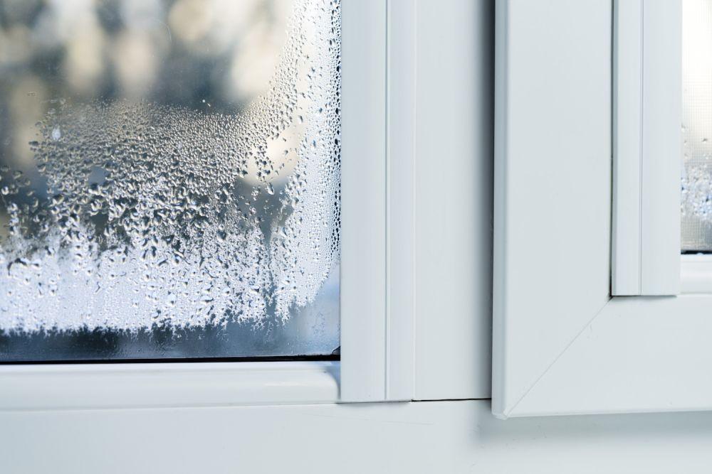 woda na oknie