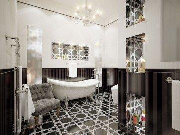 łazienka W Stylu Glamour Urządzanie Domu Ze Smakiem