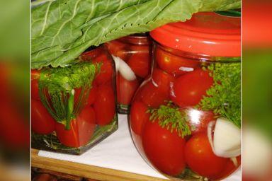 Kiszone pomidorki koktajlowe