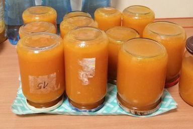 Dżem dyniowo pomarańczowy