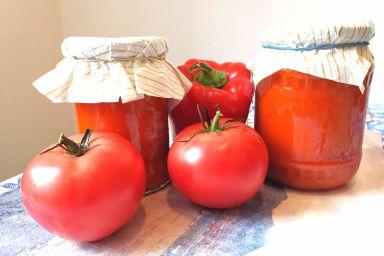 Sos paprykowo-pomidorowy na zimę