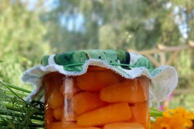 Marcheweczki w słoiku na zimę.