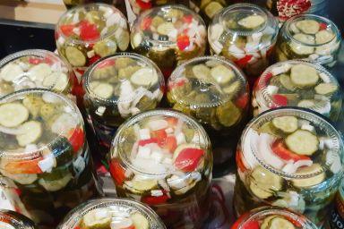 Sałatka ogórki na słodko