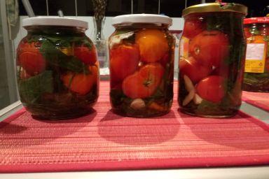 Kiszone pomidorki