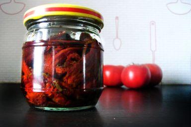 Pomidorowa susza, czyli lato zamknięte w słoiczku :)