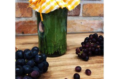 Kiszone liście winogron