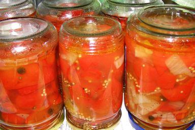 Papryka na słodko-kwaśno w słoiku