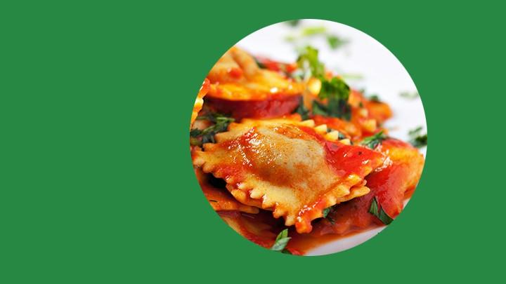 Jaką pyszną włoską potrawę widać na tym zdjęciu?