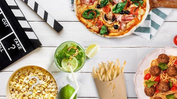 Quiz - Jedzenie i film