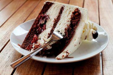 Szwarcwaldzki tort wiśniowy