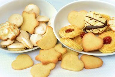 Mini-ciasteczka Heidesand