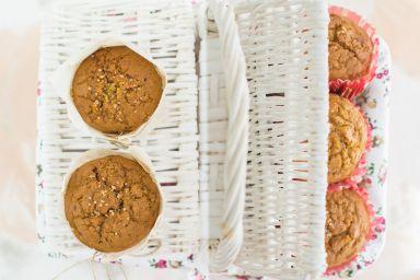 Muffiny marchwiowo-dyniowe