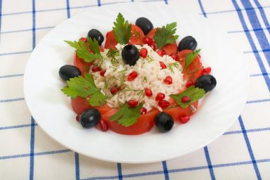 Apuliańska sałatka ryżowa