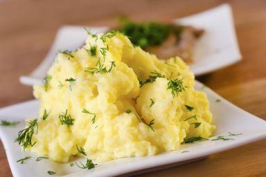 Purre z korzenia pietruszki i ziemniaków