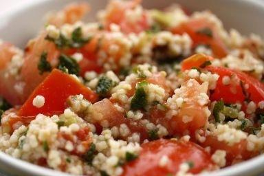 Kuskus z sosem warzywnym