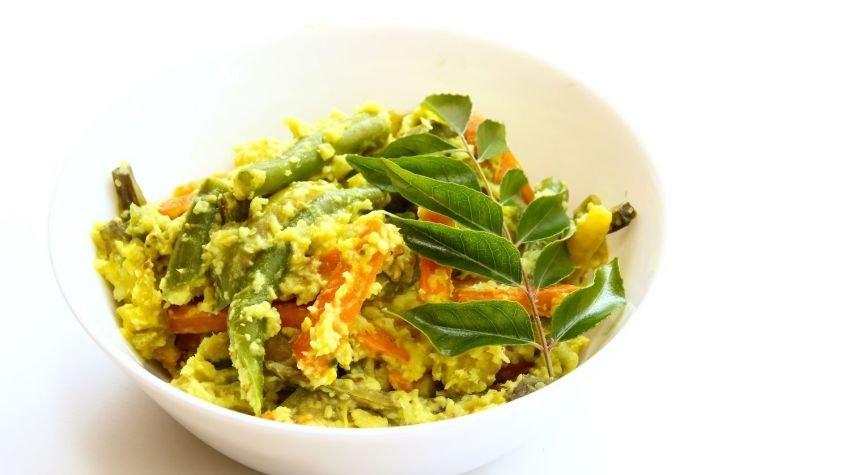 Curry warzywne z tofu