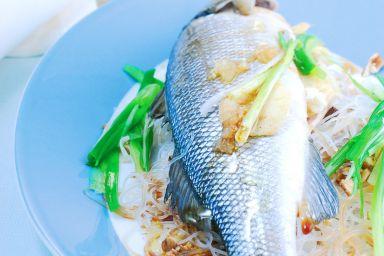 Ryba po azjatycku gotowana na parze