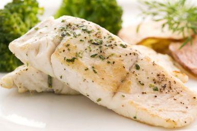 Potrawka rybna z koprem włoskim
