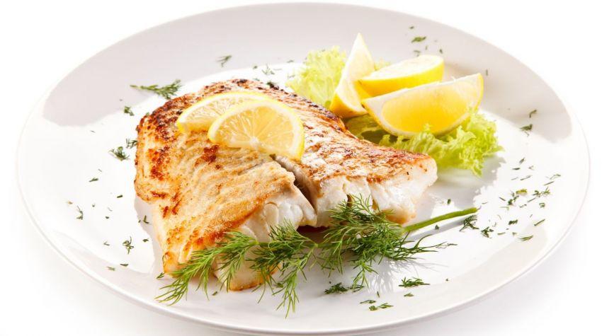 Filet rybny zapiekany z sosem musztardowym
