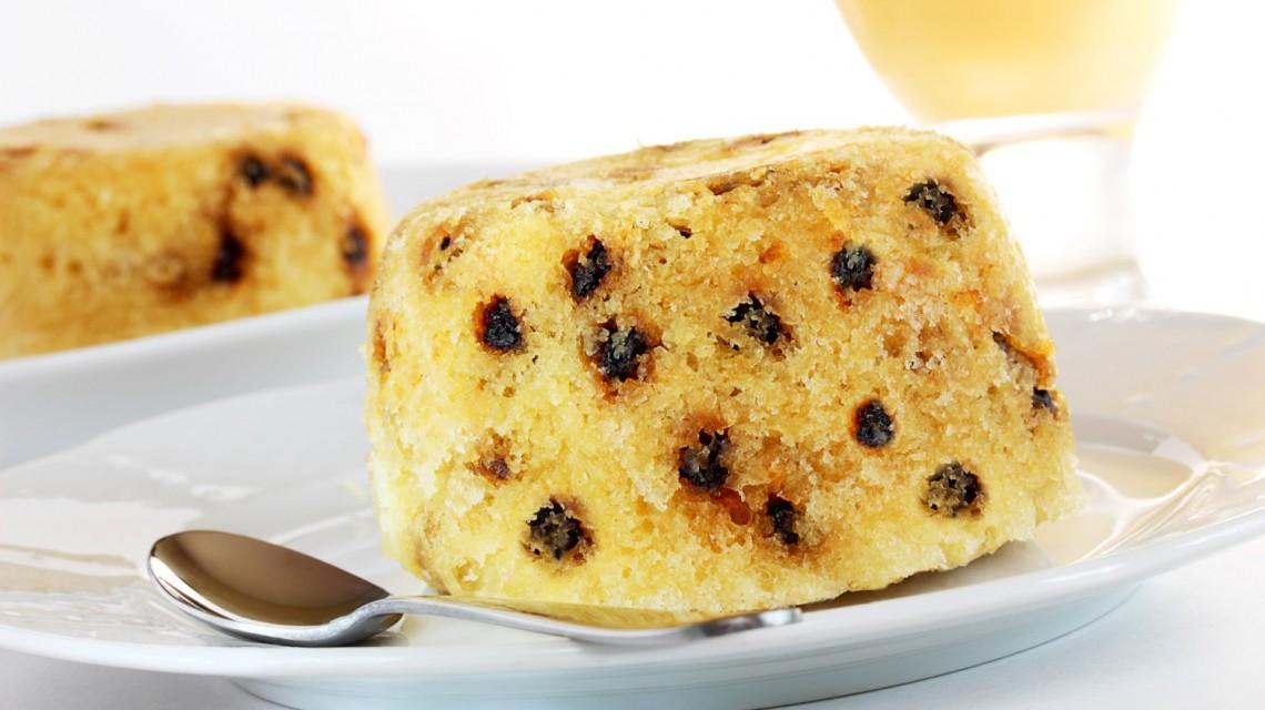 Szkocki pudding chlebowy