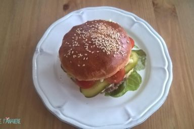 Bułki do burgerów