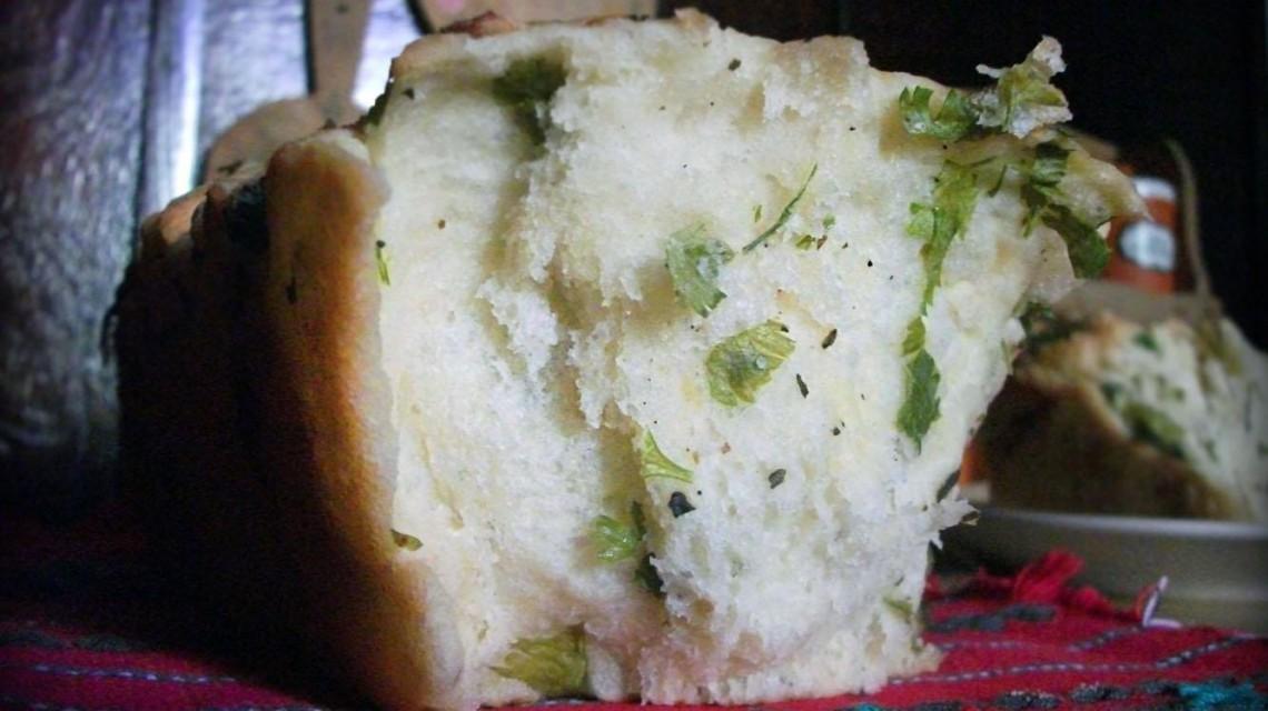 Chleb ziołowy bez krojenia