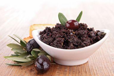 Śródziemnomorski dip z oliwek