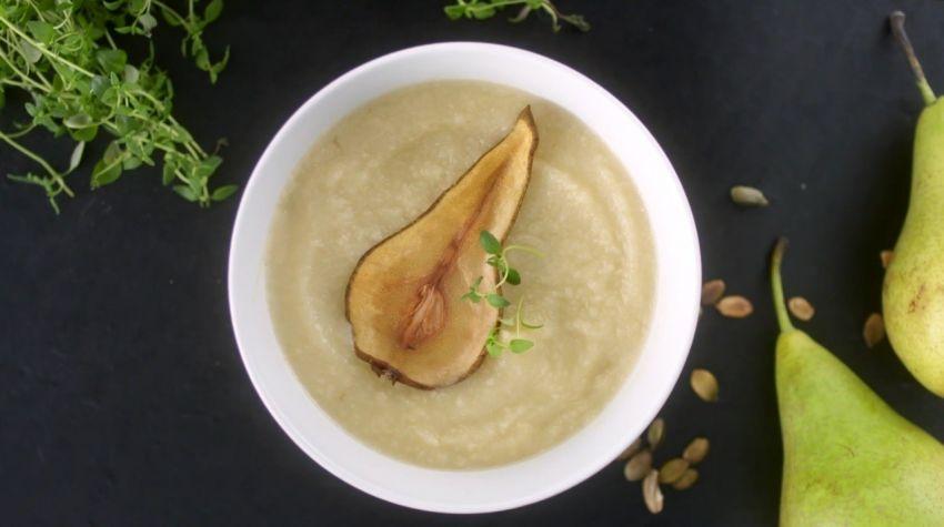 Zupa gruszkowa z imbirem
