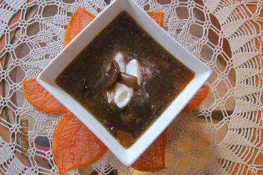 Zupa mocno grzybowa