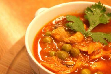 Słodko-ostra zupa z kapustą pekińską