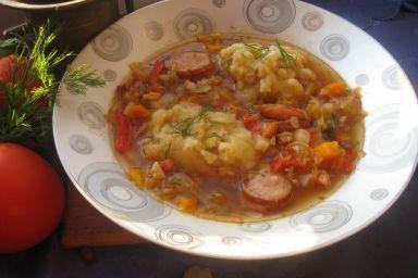 Kapuśniak z tłuczonymi ziemniakami