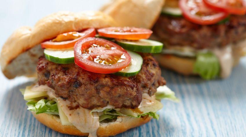 Zdrowe hamburgery
