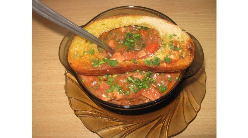 Eintopf pożywna zupa gulaszowa