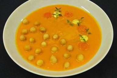 Zupa krem marchewkowo-imbirowy