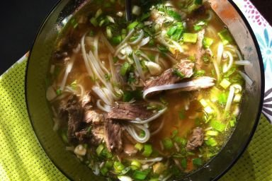 Zupa a'la Pho tai lan.