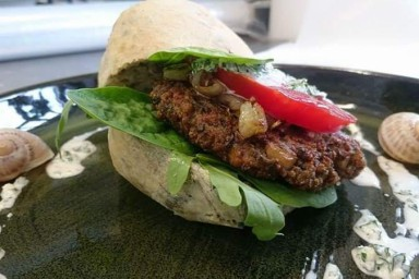 Burger z sarny