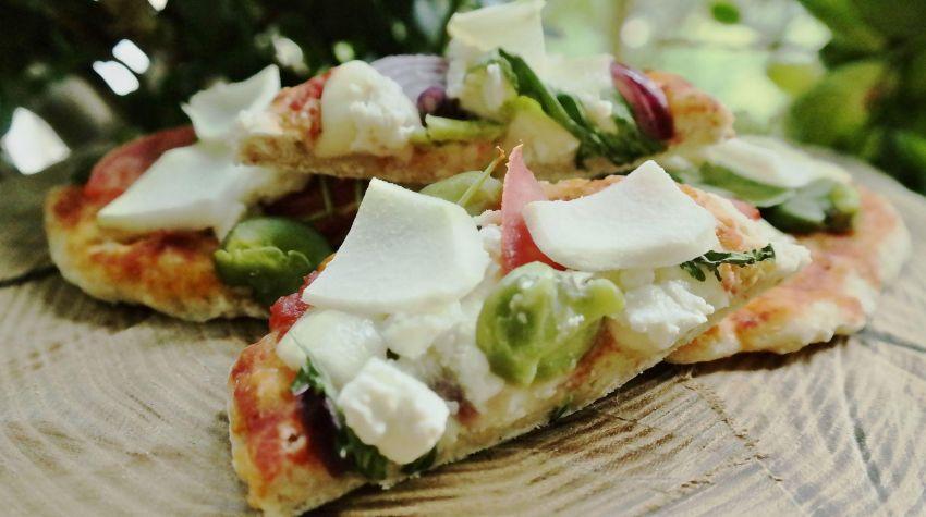 Owsiane zaskakujące mini pizze