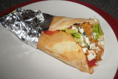 Kebab w cieście naleśnikowym
