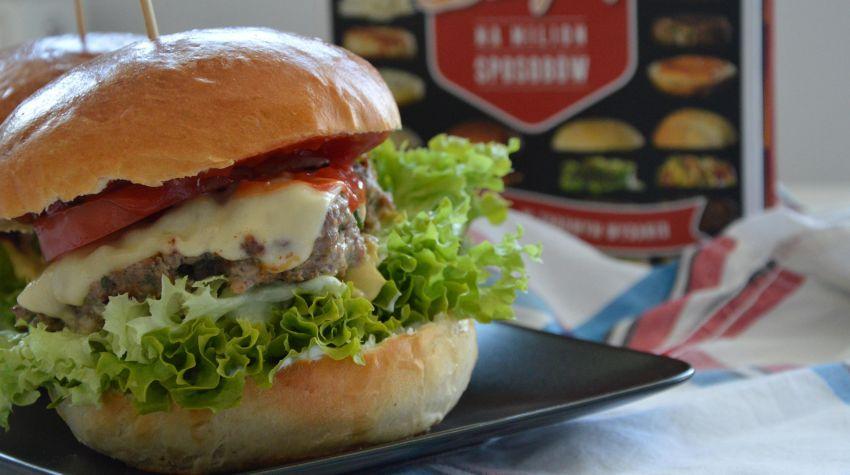 Cheesburgery wołowe