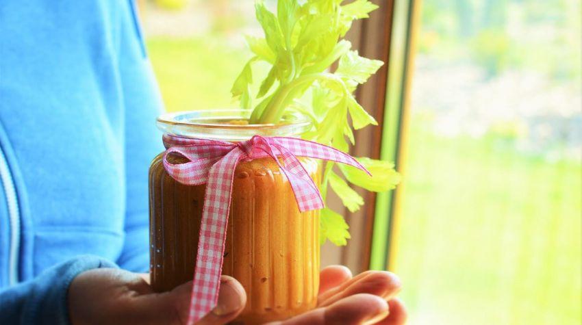 Wegański dip serowy z ziemniaków