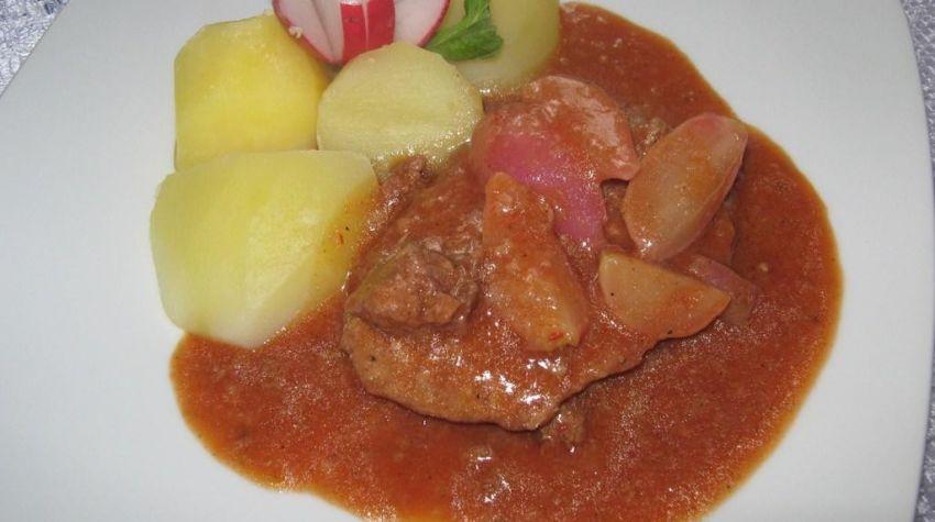 Wołowina z rzodkiewkami