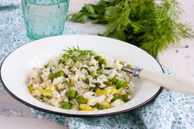 Cytrynowe risotto
