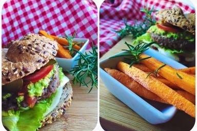 Burger wołowy w wersji fit