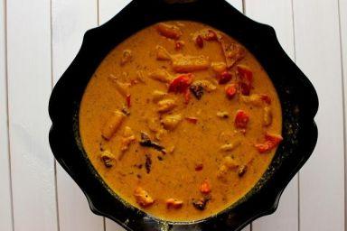 Wołowina w żółtym curry