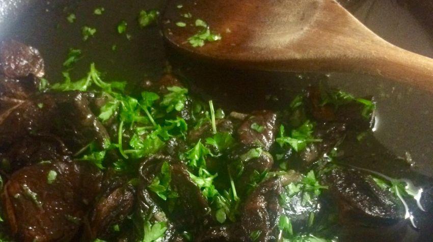 Carpaccio z marynowanej wołowiny