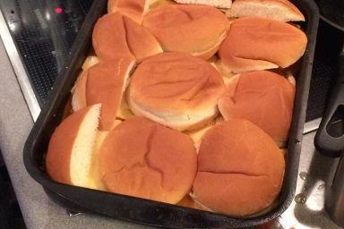Zapiekanka wołowa Burger