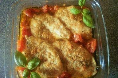 Zdrowa rybka w pomidorach